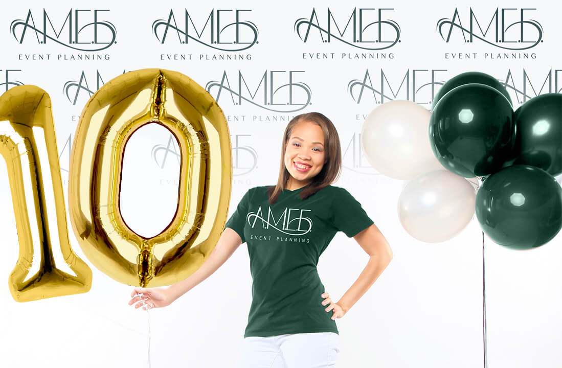 AMEE Event Planning 10 years Brand image
